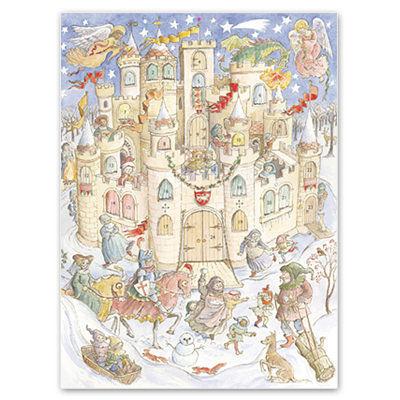 Castle-Christmas-Advent-Calendar