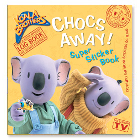 Koala Brothers - Chocs Away! Super Sticker Book