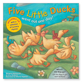 Five Little Ducks with CD