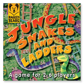 Jungle Snakes and Ladders Game
