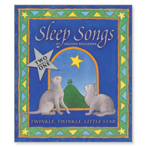Sleep Songs, Reversible Board Book