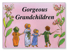 Georgeous Grandchildren Boasting Book LGY