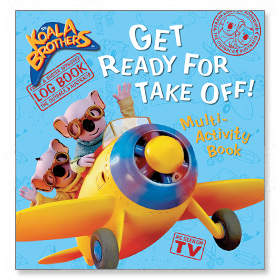 Koala Brothers - Get Ready for Take Off! Multi-Activity Book